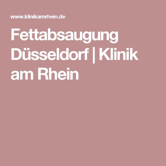 Fettabsaugung Düsseldorf | Klinik am Rhein