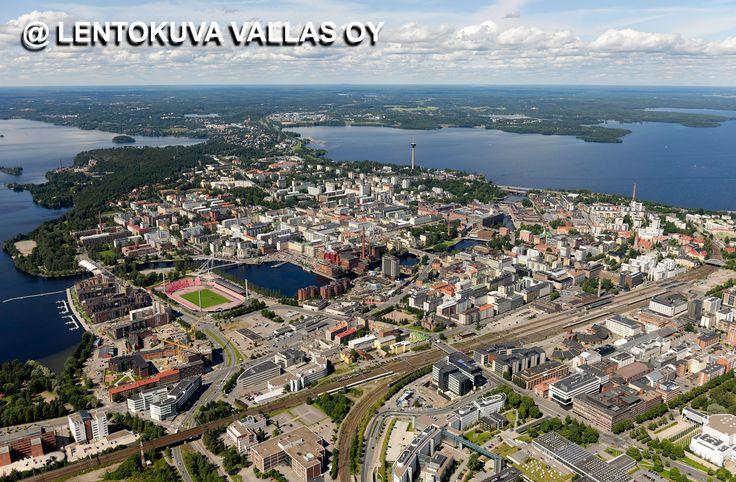 Tampere Kaupunginosat
