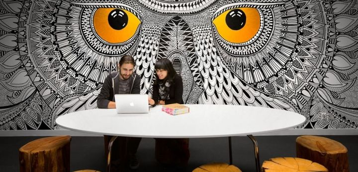 HootSuite offce by SSDG Interiors, Vancouver – Canada