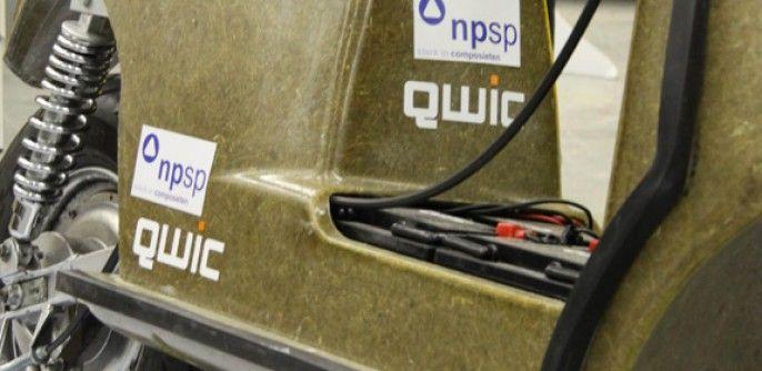QWIC bio-based e-scooter in Nemo - QWIC