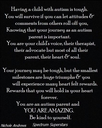 Autism #autism for the moms and dads