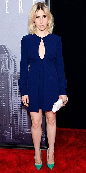 Awesome Red Carpet Fashion Last Night's Look: Love It or Leave It? Vote Now! | ZOSIA MAMET  | in a blue... Check more at http://24myshop.tk/my-desires/red-carpet-fashion-last-nights-look-love-it-or-leave-it-vote-now-zosia-mamet-in-a-blue/