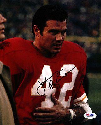 Johnny Robinson chiefs football cards | ... Johnny Robinson > Johnny Robinson Autographed Photo - 8x10 Chiefs PSA