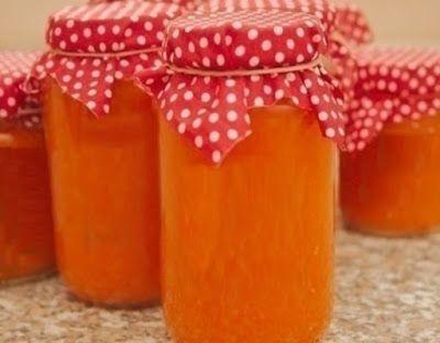 arta culinara: Gem de dovleac cu portocale.