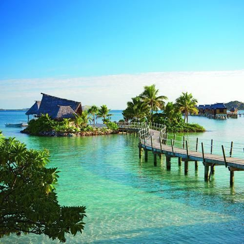 This is where dave and i honeymooned in 2007!! Likuliku Lagoon Resort, Fiji . ...stunning!!!