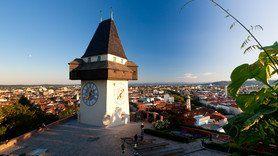 Uhrturm   © Graz Tourismus   Harry Schiffer