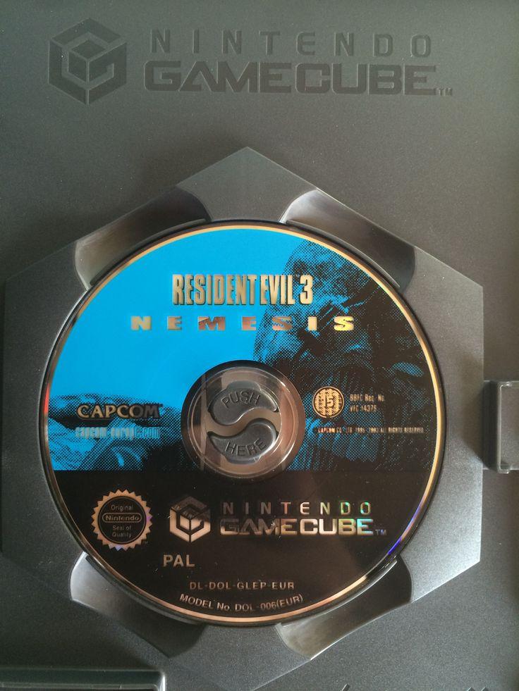 Resident Evil 3 Nemesis game disc.