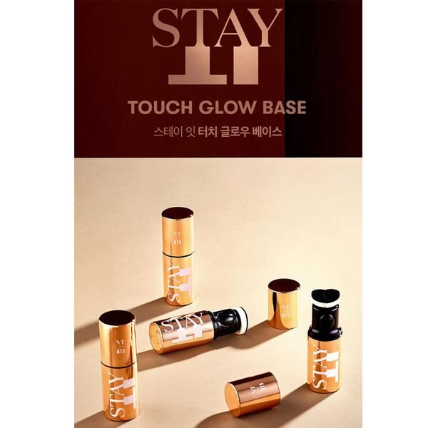 Vt X Bts Stay It Touch Glow Base Touch Foundation Makeup Items Even Skin Tone