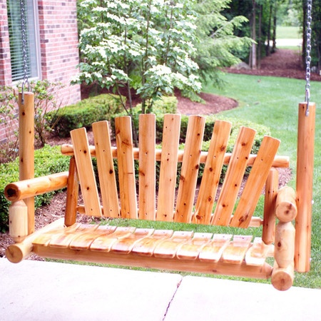 208 best images about the busy bee 39 s crafts on pinterest for Log porch swing plans