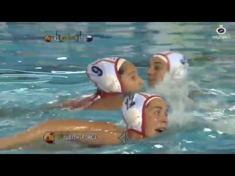 Goles España vs Rusia Liga Mundial Waterpolo - YouTube