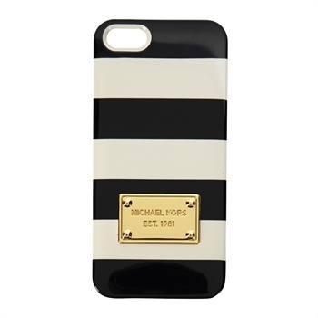 Michael Kors Striped iPhone 5 Case #VonMaur #MichaelKors #Striped #Tech