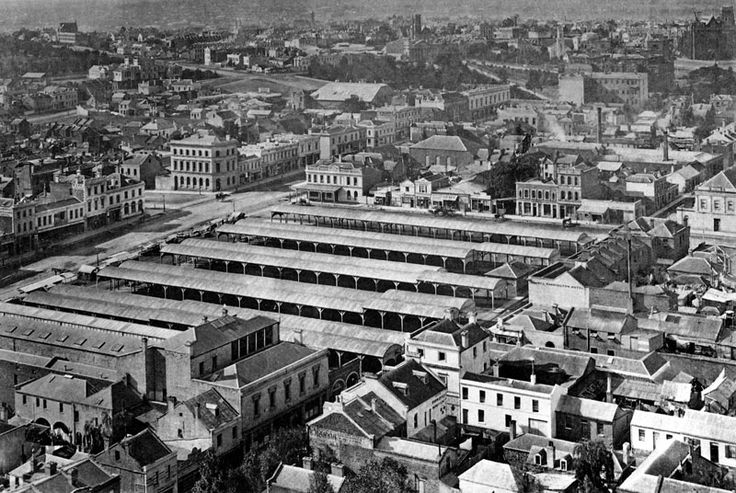Old Paddy's Market started in 1847 and was later renamed The Eastern Market. It was located south-west corner of Bourke and Stephen (Exhibition) Street. http://www.walkingmelbourne.com/forum/viewtopic.php?t=401