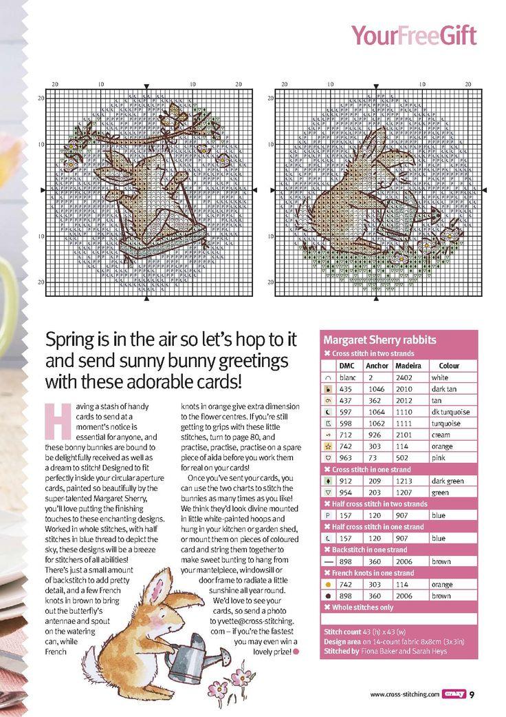 cross stitch #spring #bunny