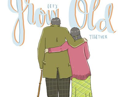"Check out new work on my @Behance portfolio: ""Let's Grow Old Together"" http://be.net/gallery/40911707/Lets-Grow-Old-Together"
