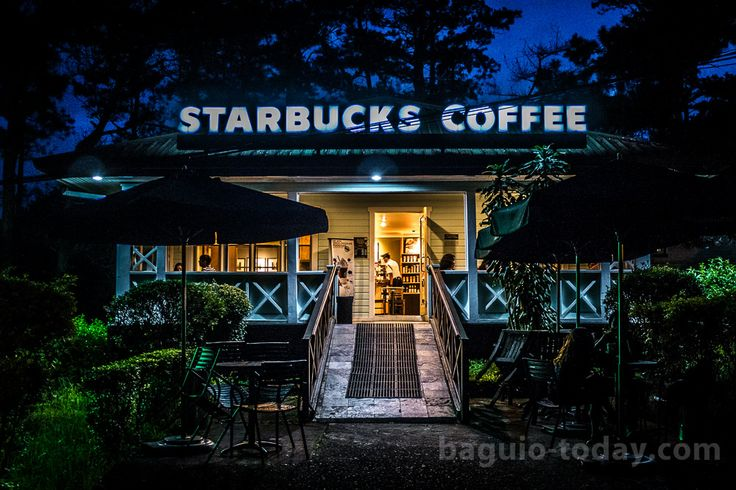Starbucks - Camp John Hay