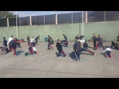 Juegos Educación Física - Cazador de Lagartijas - YouTube