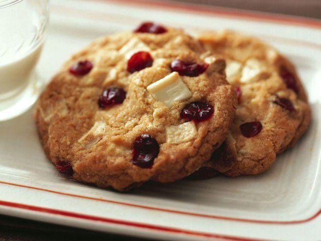 Ricetta Cookies Cioccolato Bianco E Mirtilli.Pin Su Biscotti