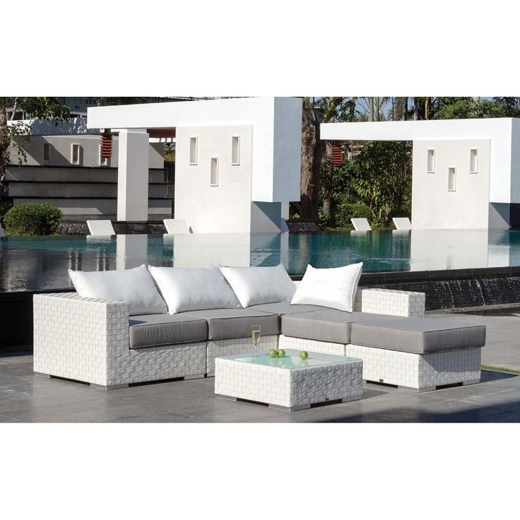 Majestic garden sof modular y mesa de jard n bah a - Sofas por modulos ...