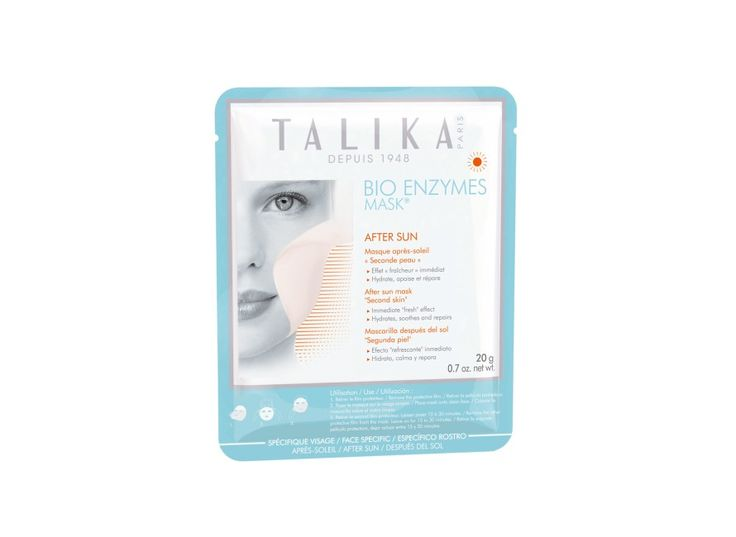 This mask is made of the same material that's used in surgery to heal, and it's packed with hyaluronic acid and herbs (such as chamomile and arnica) that are known for their anti-inflammatory properties.