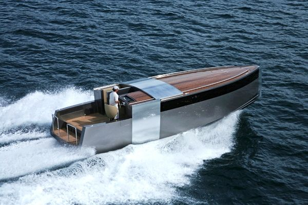 Super yacht 'A' designed by Philippe-Starck (one of the tenders)