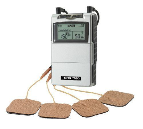 Tens Unit Muscle Stimulator For Back Pain Therapeutic Device Electronic Portable #TensUnitMuscleStimulator