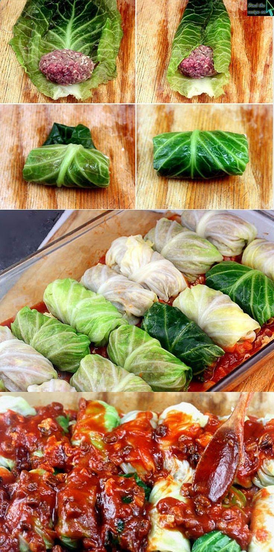 Amazing Stuffed Cabbage Rolls