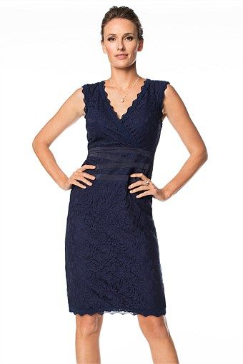 Dresses - Grace Hill Lace Cross Dress