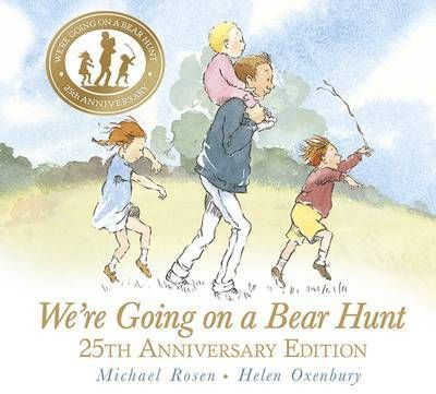 For brave hunters and bear-lovers, this is the classic chant-aloud by Michael Rosen and Helen Oxenbury in a beautiful 25th-anniversary edition. We're going on a bear hunt. We're going to catch a big one. Will you come too? For a quarter of a century, readers have been swishy-swashying and splash-sploshing through this award-winning favourite.