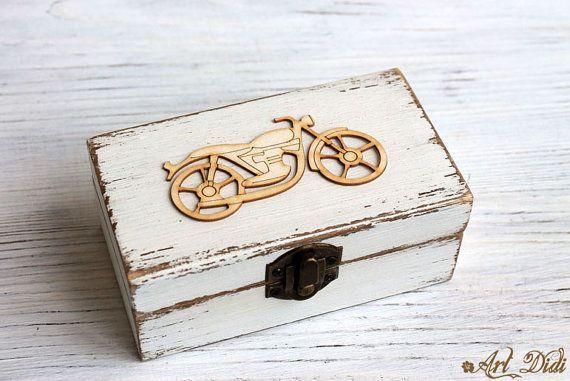 Car key box wedding ring box ring bearer box jewelry by ArtDidi