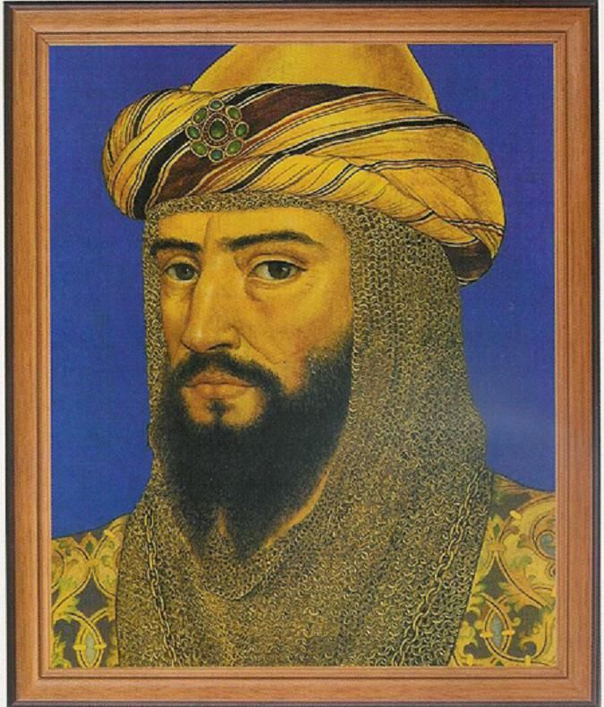 Ṣalāḥ ad-Dīn Yūsuf ibn Ayyūb, was the first Sultan of Egypt and Syria and the founder of the Ayyubid dynasty. A Muslim of Kurdish[1][2][3] origin, Saladin led the Muslim opposition against the European Crusaders in the Levant. At the height of his power, his sultanate included Egypt, Syria, Mesopotamia, Hejaz, Yemen, and other parts of North Africa.