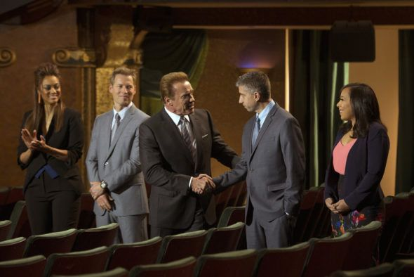 Tv Ratings The Celebrity Apprentice Returned Up With Its New Host And The Bachelor Was Down With It Celebrity Apprentice Schwarzenegger Arnold Schwarzenegger