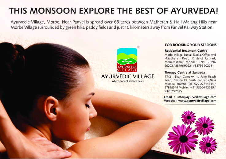 This Monsoon get the best of Ayurveda! at www.ayurvedicvillage.com