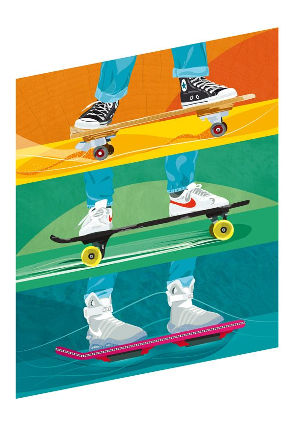 Back to the Future by Ben O'Brien - What's that thing he's on #backtothefuture