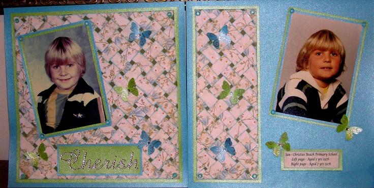 Baket weave layout designed by Kaszazz consultant Shirlz Cook.