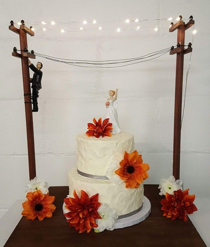 power lineman wedding cake topper 180 best bake my day images on baking bread 18705
