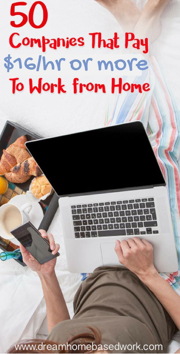 50 Legit Work from Home Jobs That Pay $16 Per Hour…