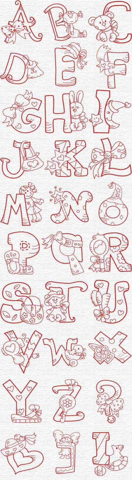 Free Embroidery Designs, Sweet Embroidery, Designs Index Page                                                                                                                                                                                 Más