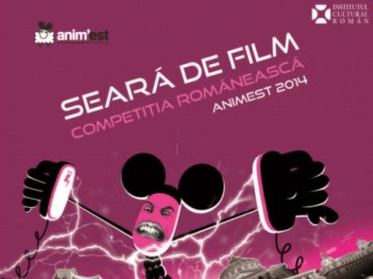 Competiția românească Anim'est, la Seara de film de la ICR