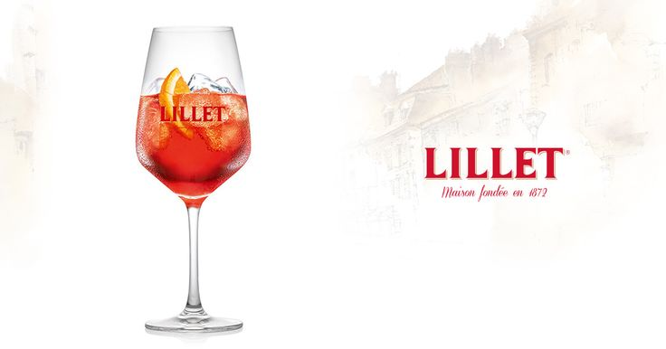 Für perfekte Cocktailabende – mit dem rubinroten Aperitif: Lillet Rouge Tonic. Zum Rezept: