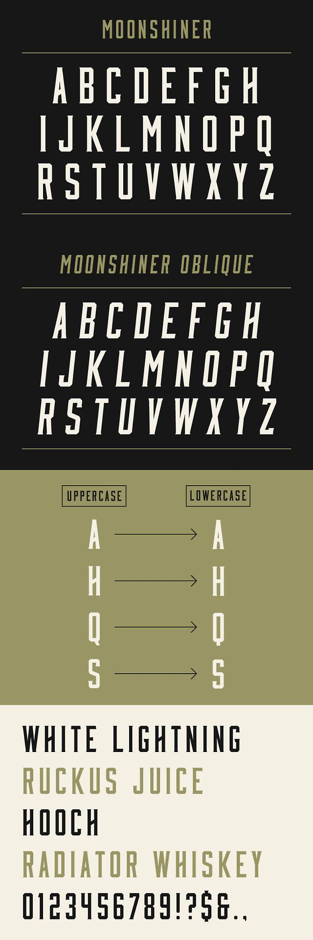 Moonshiner: New Free Typeface