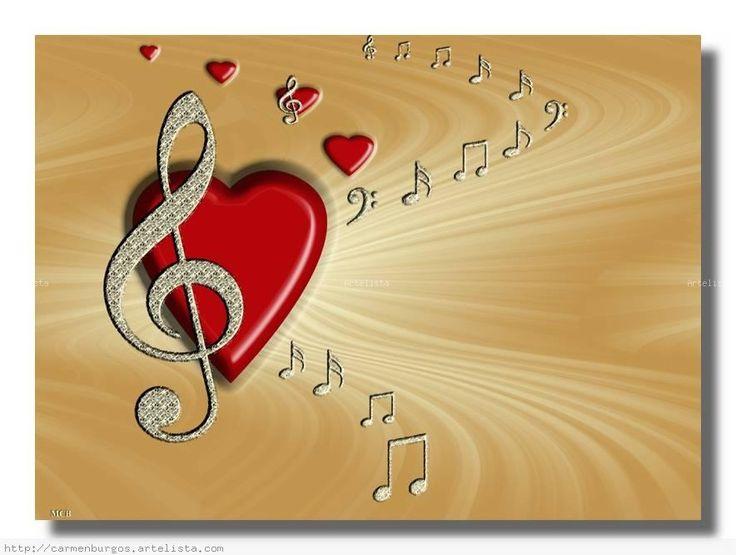"""""""Amor por la música"""" - M. Carmen Burgos. Artelista.com #música"""