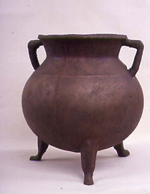 Medieval Cauldron after conservation