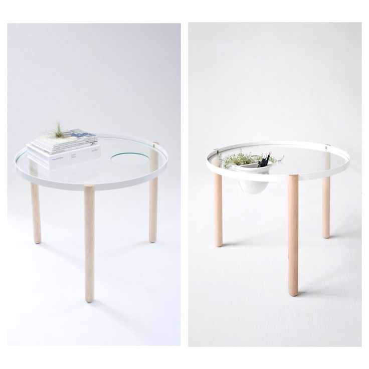 This Beautiful Maple, Steel, And Glass #table Crafted By #RyanUpton And #