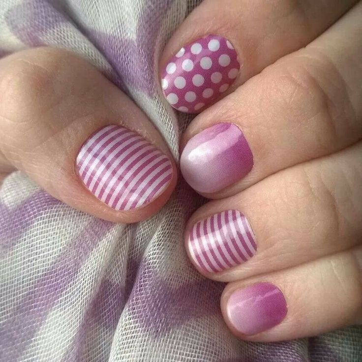 Jamberry Nails- I love these!! What a great combination! www.kimcook.jamberrynails.net