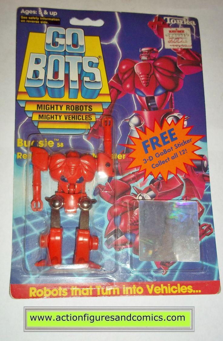 gobots BUGSIE monster mr-58 1985 tonka ban dai toys action figures moc mip mib vintage transformers