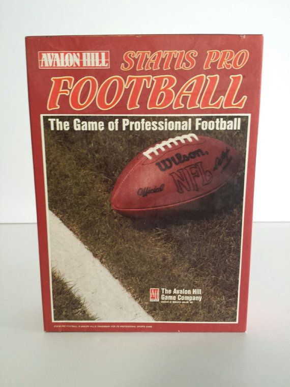 Check out this item in my Etsy shop https://www.etsy.com/listing/290227201/status-pro-football-strategy-board-game1