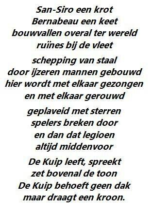 De Kuip. Feyenoord.