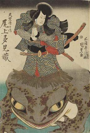 浮世絵のカエルたち - Togetterまとめ