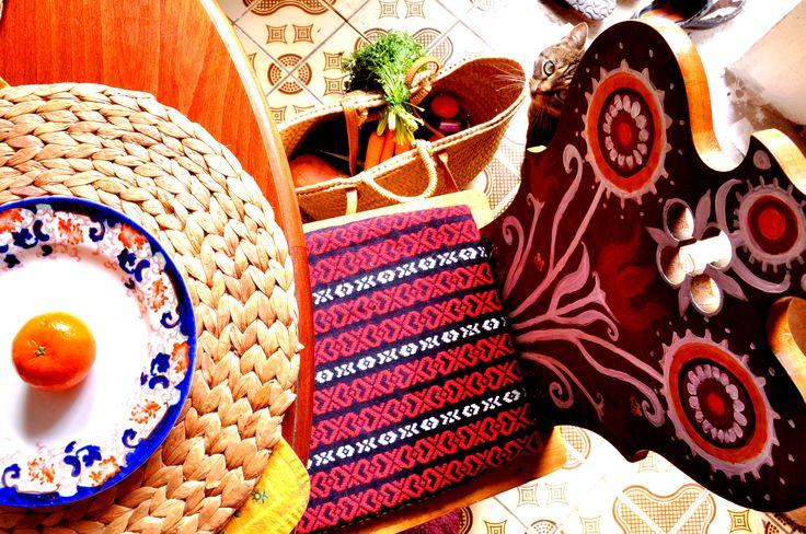 happy kitchen chair