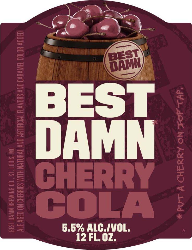 Best Damn Cherry Cola, the next in Anheuser-Busch brand extensions